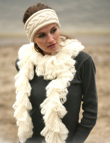 шарф и повязка (458x594, 66Kb)