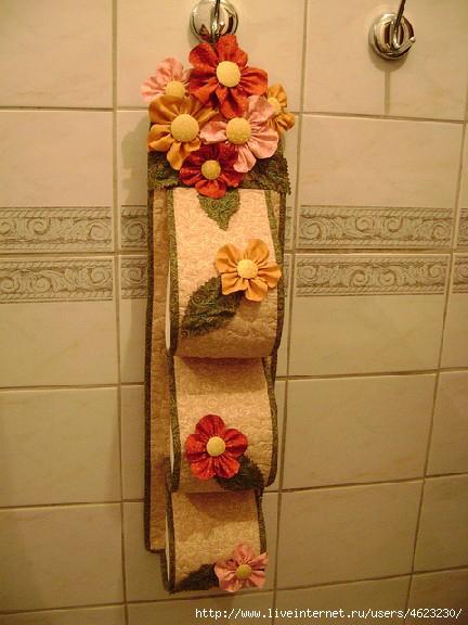 Органайзер для туалета своими руками