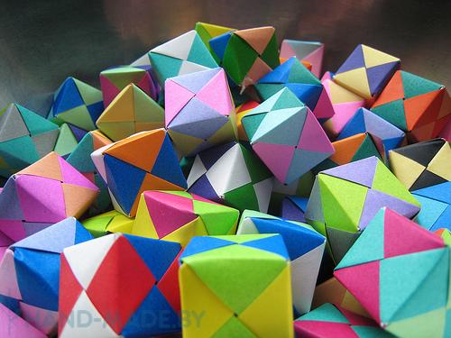 кубик оригами - Самое