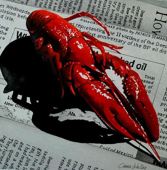 4704573_crawfishonnewsprint10x10 (541x550, 67Kb)