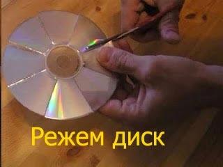 Поделка для детского сада на новый год своими руками из сд дисков своими руками