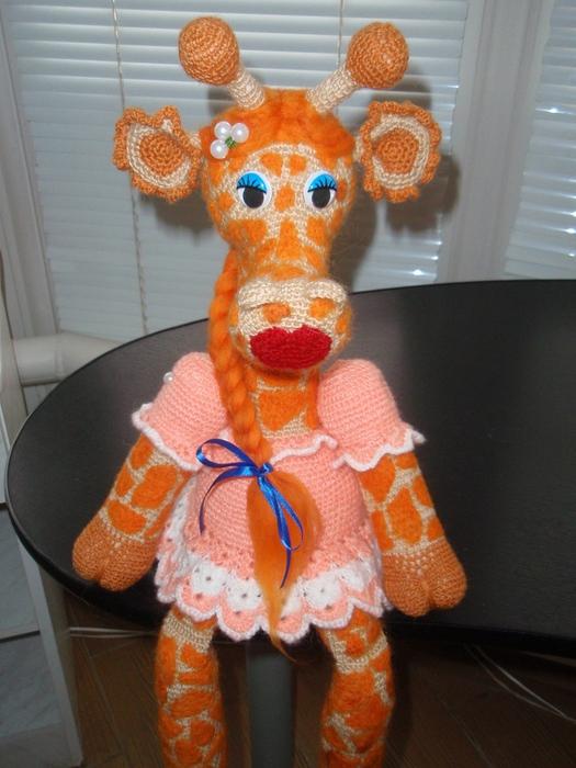 Жирафа Жоржетта - описание