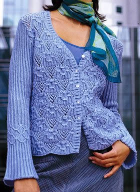 Вязаный пуловер 60 (280x383, 41Kb)