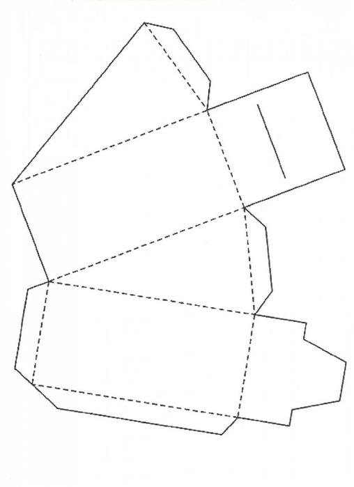 Торт из бумаги своими руками схема пожелания