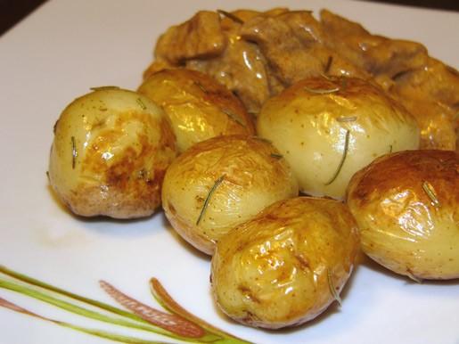 Готовим молодой картофель