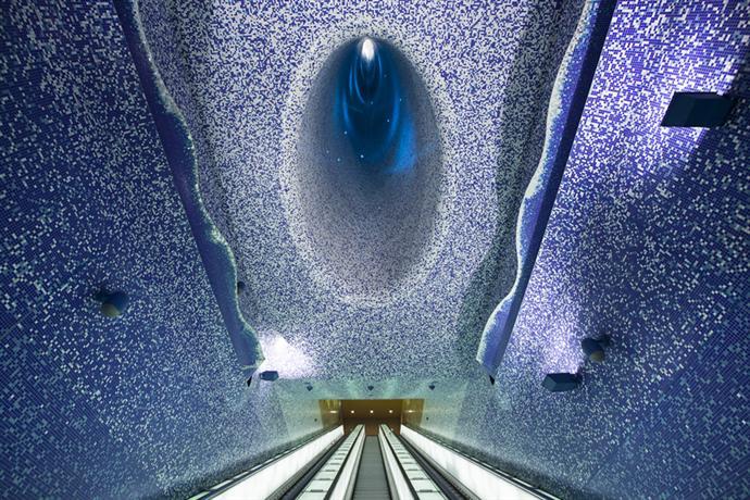 Неаполитанское метро Толедо