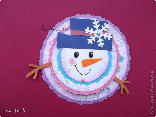 Снеговик из бумаги своими руками мастер класс