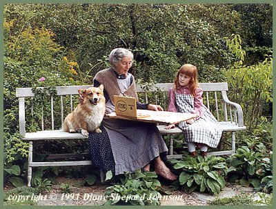 Tasha Tudor Sarah Owyn Photo by DSJ (400x303, 56Kb)