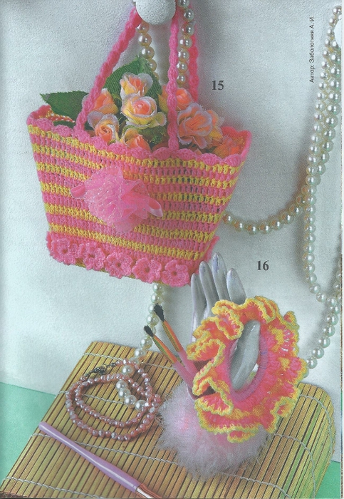 сумочка и заколка (483x700, 308Kb)