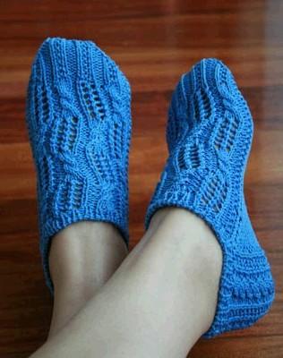 Носочки -следики ажурные женские спицами/4683827_20120614_224014 (318x415, 38Kb) .