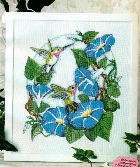Колибри на вьюнке.