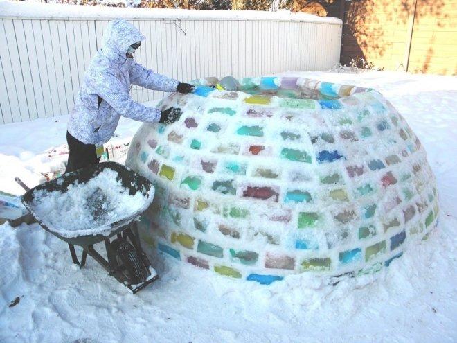 Как сделать дом холодным