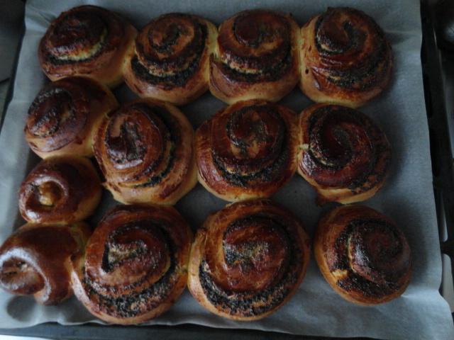 булочки с маком по рецепту теста французских булочек бриош от vagasa.ru
