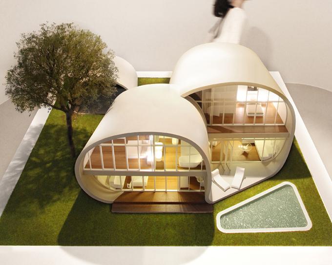 оригинальный архитектурный проект The Moebius House 1 (680x542, 309Kb)