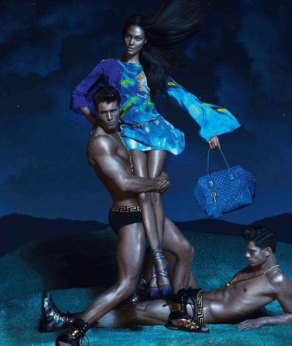 Versace модная летняя коллекция 1 (589x700, 123Kb)