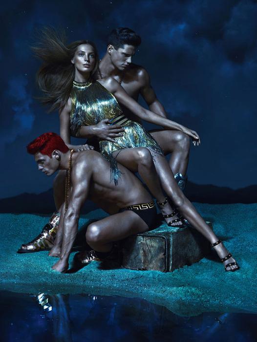 Versace модная летняя коллекция 7 (526x700, 116Kb)