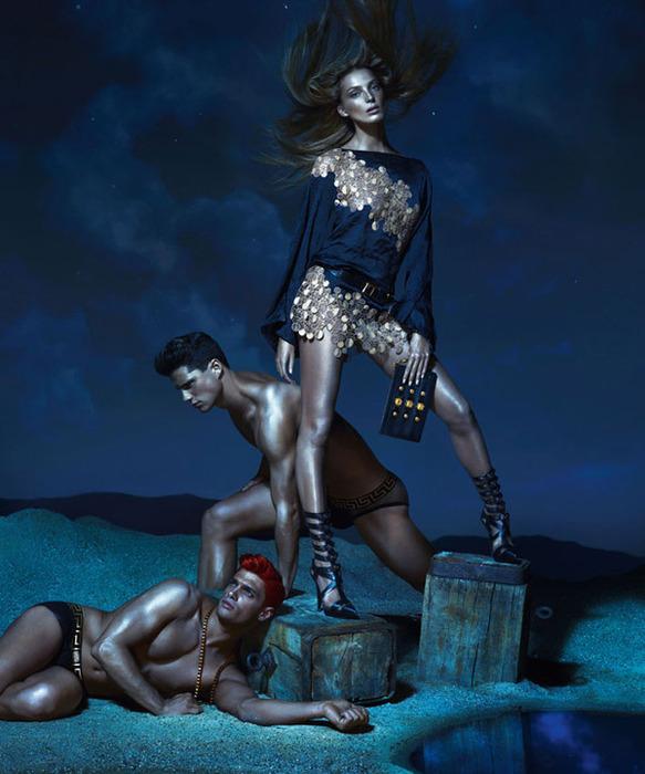 Versace модная летняя коллекция 9 (583x700, 115Kb)