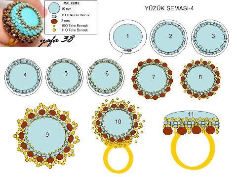 Cхема к оригинальному кольцу.