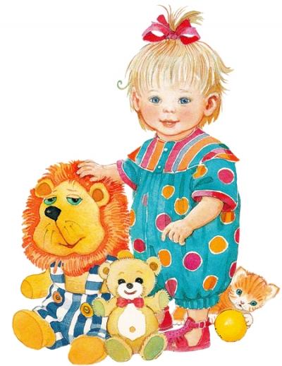Скачать Картинка малыши в детском саду 3