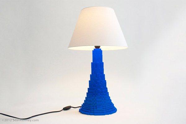 Шон Кенни. Креативные лампы LEGO. Фотографии
