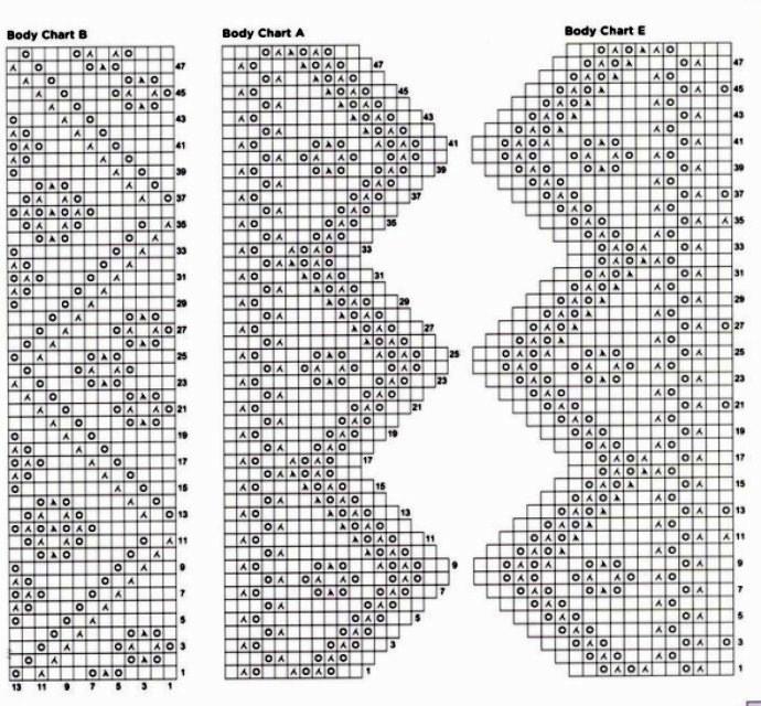 Вязание спицами ажурные палантины схемы и описания 44