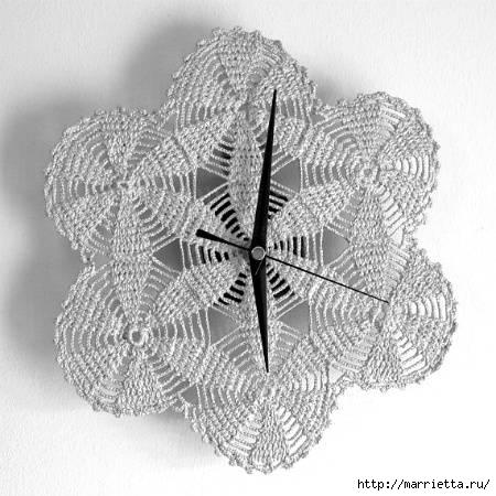 silver-crochet-wall-clock (450x450, 117Kb)