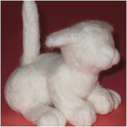 Из чего делают игрушки из валяние шерсти