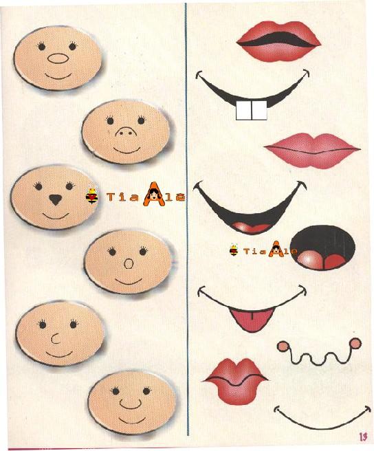 Картинки губ для поделок