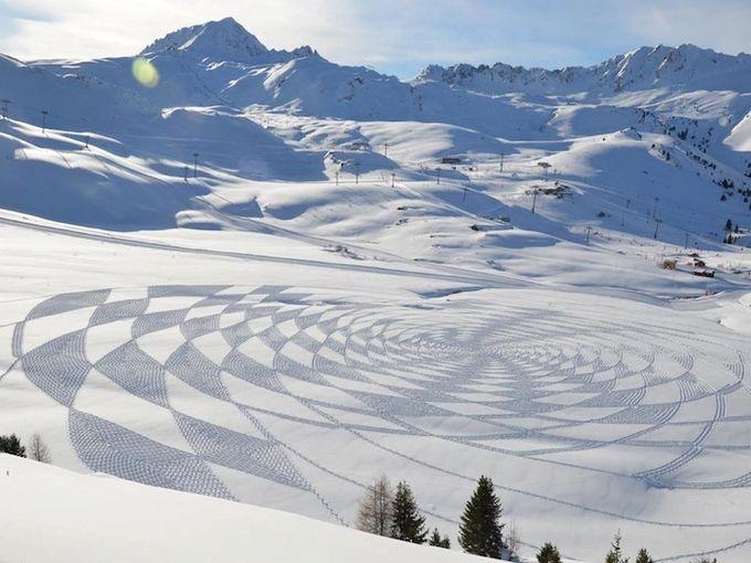 узоры на снегу фото 7 (680x510, 66Kb)