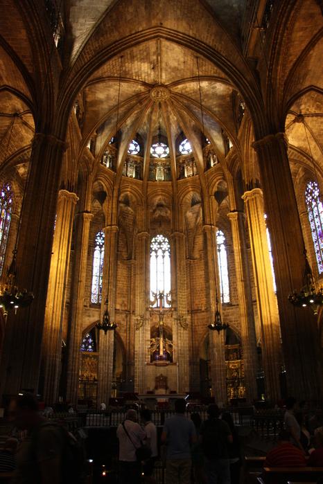Spain-Barcelona-Catedral de la Santa Cruz y Santa Eulalia -2012-Изображение 981 (466x700, 264Kb)
