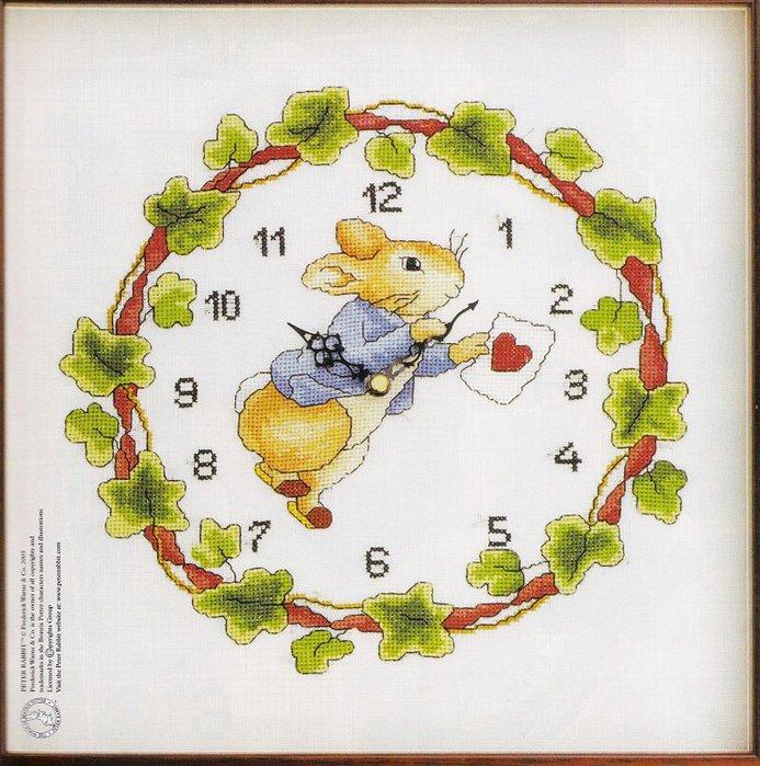 Часы с белым кроликом.
