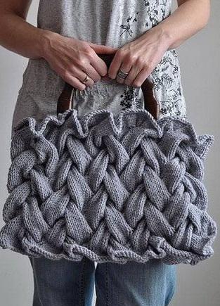 Схема вязания узора Плетенка