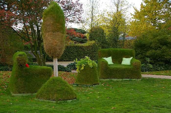 Бад Цвишенан : Park der Garten 97405