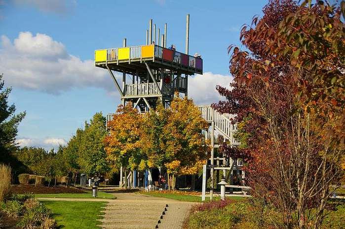 Бад Цвишенан : Park der Garten 29046