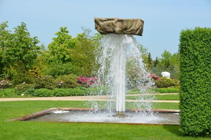 Бад Цвишенан : Park der Garten 35598