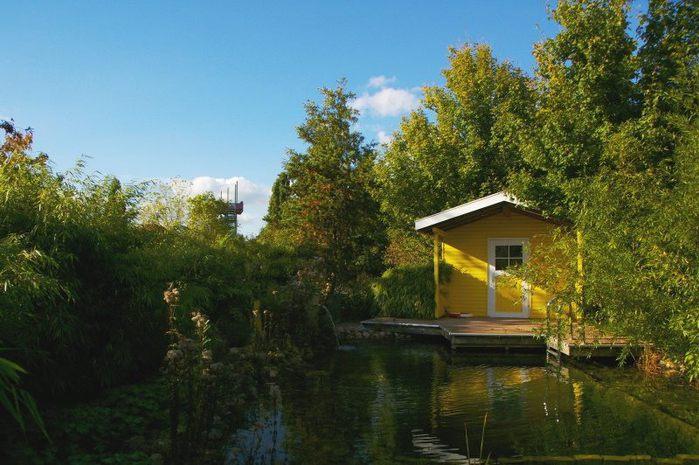 Бад Цвишенан : Park der Garten 51700