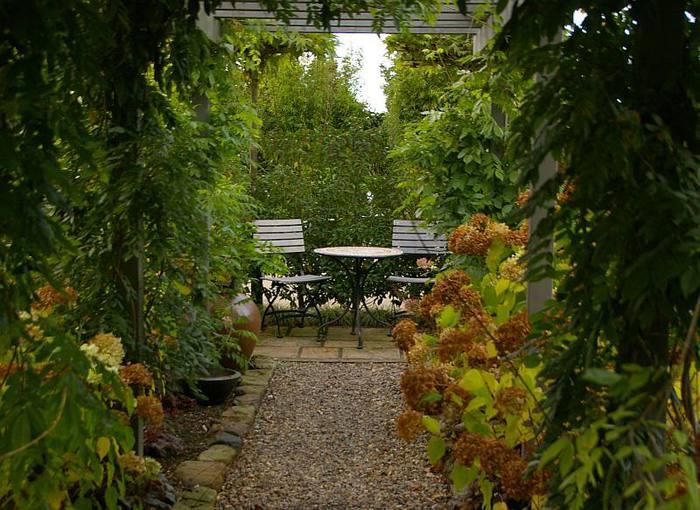 Бад Цвишенан : Park der Garten 12493