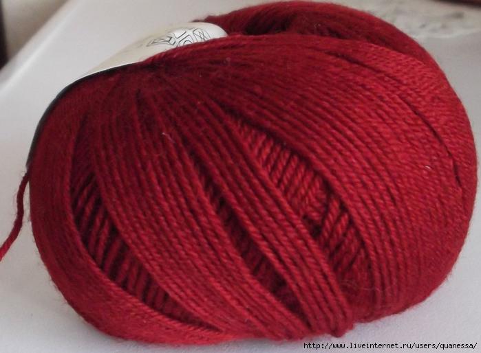 для какие нитки выбрать для шарфа самую
