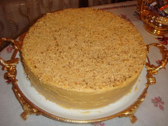 Пошаговый рецепт фото торта апшерон