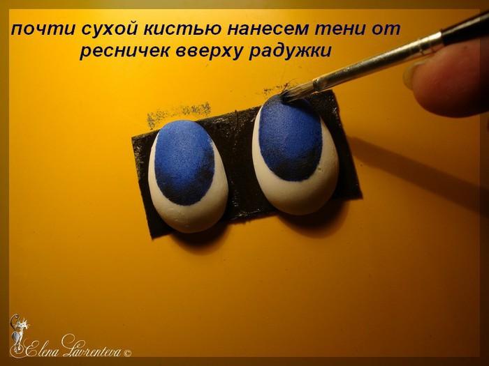 Как сделать глаз из пластика 53