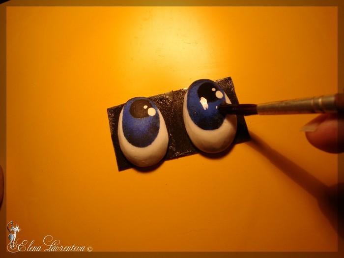 Как сделать глаз из пластика 450