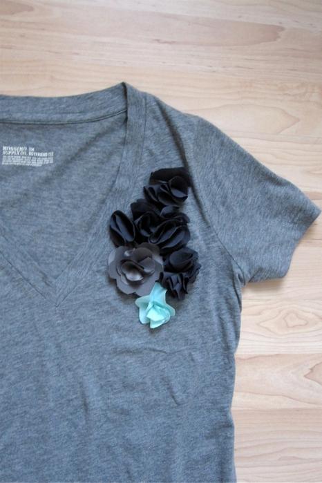 мастер класс-украсить футболку (466x700, 231Kb)