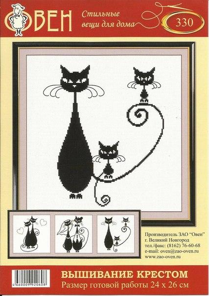 """钩针模式:""""情侣猫"""" - maomao - 我随心动"""