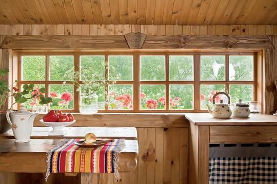 Дизайн деревенского дома внутри фото своими руками