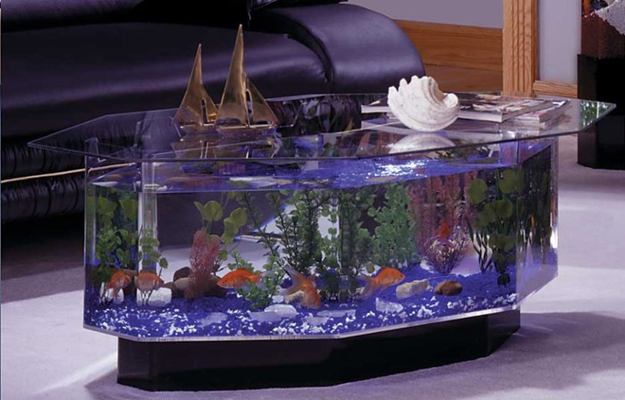 Аквариум для рыб своими руками
