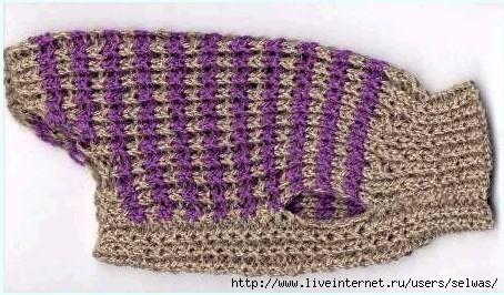 Связанный свитер для чихуахуа