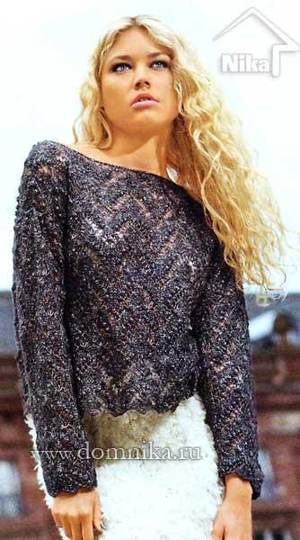 azhurnyj-pulover-vjazanie-spicami (334x600, 38Kb)