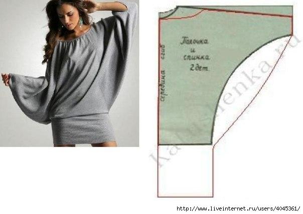 Сшить платье без выкройки быстро, просто и стильно 9