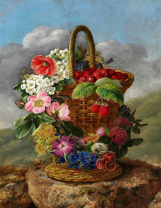 Johan Laurentz Jensen 1800-1856 - Danish painter - Tutt'Art@ (542x700, 355Kb)