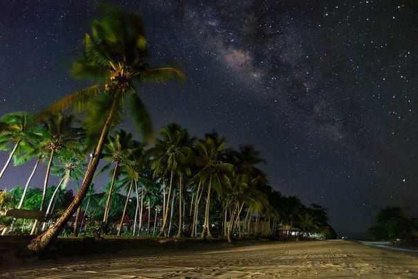 Ночь на острове Барокай, Филлипины (604x403, 51Kb)